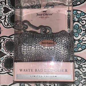 Bling bling Juicy Couture waste bag dispenser